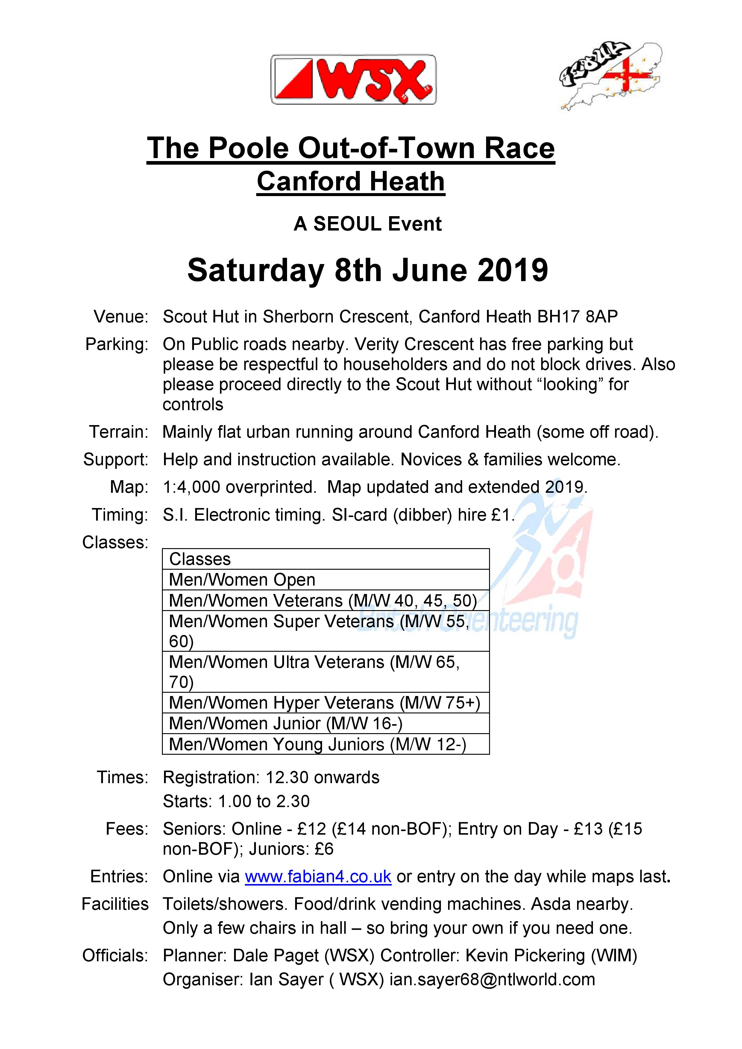 Co Chairmans Chat 03 June | Wessex Orienteering Club